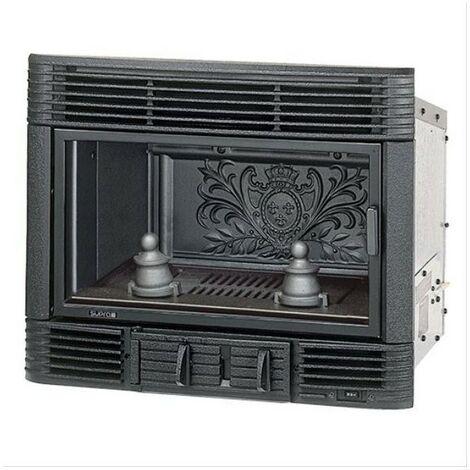 SUPRA INSERT BOIS - 2 turbines - Thermostat - intérieur fonte 6 kW Classe A