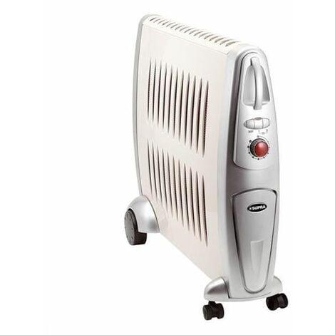 SUPRA Radiateur Mobile Chaleur Douce 2000w 3 Puissances Bureau Salon Chambre