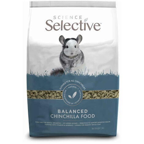 Supreme Science - Aliments Selective pour Chinchilla - 1,5Kg