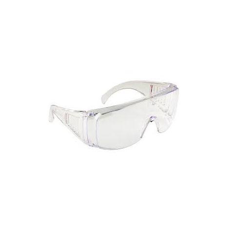 Sur-lunette de protection incolore Unique - Noir