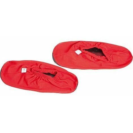 Surchaussures Profi, rouge lavable, pointure 46-49 1 paire *BG*