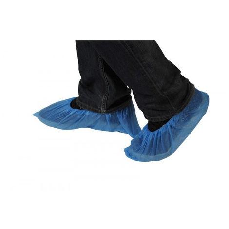 Surchaussures Taille unique bleu - Lot de 100 - SURC0001