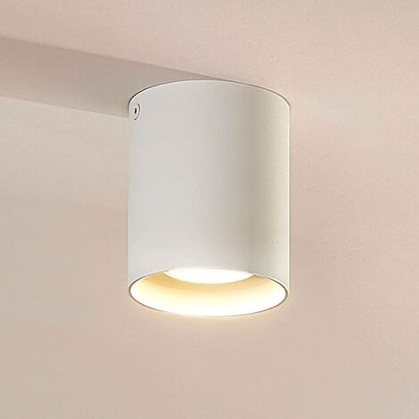 Surface-mounted downlight Carson in white
