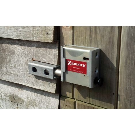 Surface Mounting Kit for the Zedlock Secure Gate Locks [007-0900]
