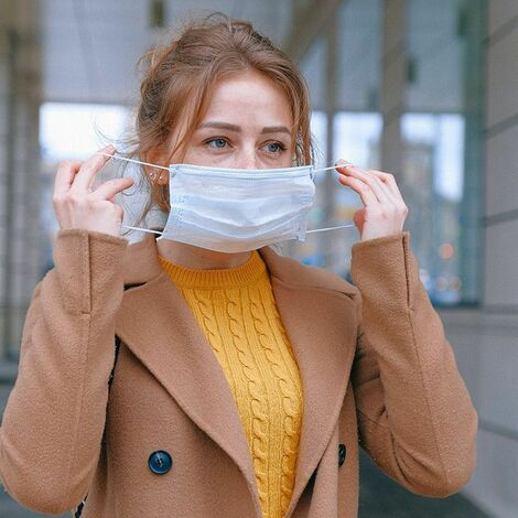 SURGICAL MASK : Pack de 50 Masques Chirurgicaux Jetables