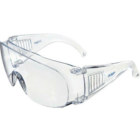 Surlunettes Dräger X-pect 8110 26794 avec protection UV transparent 1 pc(s)