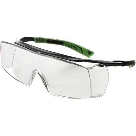 Surlunettes Univet 5X7 5X7-03-11 avec protection anti-buée, avec protection UV gris, vert foncé DIN EN 166 1 pc(s)