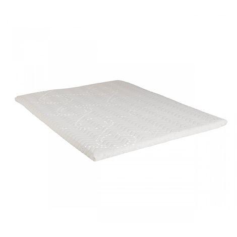 Surmatelas Mousse Mémoire de Forme Someo S90 90x200 - Blanc