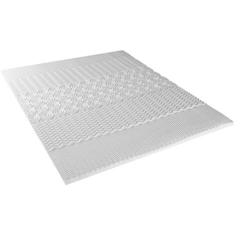 Surmatelas Précieux mousse haute densité 140x190 cm