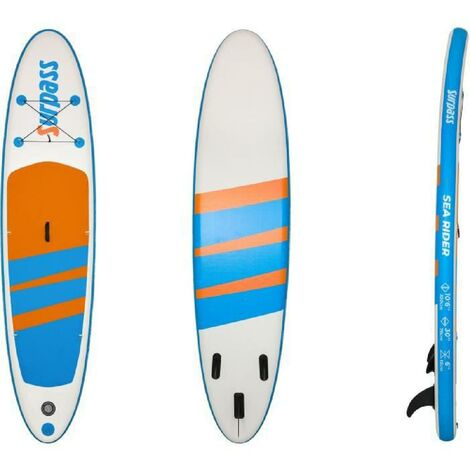 """main image of """"SURPASS - Kit Paddle gonflable Sea Rider - 320x76x15cm - 115kg max"""""""