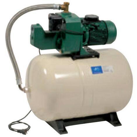 Surpresseur 100L DAB AQUAJETGWS151100M - Réservoir horizontal à diaphragme avec pompe a eau 1,1 kW de 0,9 à 4,2 m3/h monophasé 220V