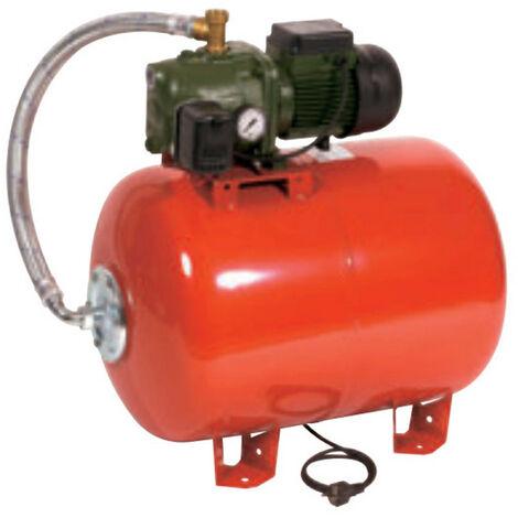 Surpresseur 100L DAB AQUAJETRED132100M - Réservoir horizontal à vessie avec pompe a eau 1 kW jusqu'à 4,8 m3/h monophasé 220V