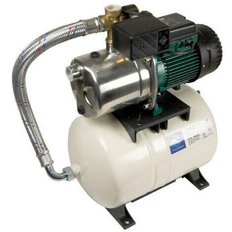 Surpresseur 20L DAB AQUAJETINOXGWS13220M - Réservoir horizontal à diaphragme avec pompe a eau 1 kW jusqu'à 4,8 m3/h monophasé 220V
