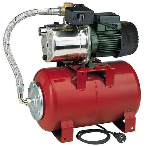 Surpresseur 20L DAB AQUAJETINOXRED8220M - Réservoir horizontal à vessie avec pompe a eau 0,6 kW jusqu'à 3,6 m3/h monophasé 220V