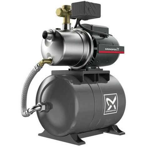 Surpresseur 20L Grundfos JP342PT - Pompe a eau 0,72 kW de 0,5 à 2,5 m3/h monophasé 220V