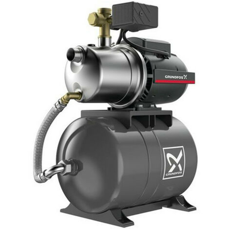 Surpresseur 20L Grundfos JP447PT - Pompe a eau 0,85 kW de 1 à 3,5 m3/h monophasé 220V