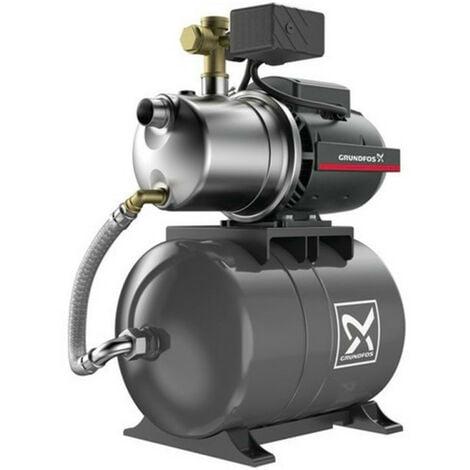 Surpresseur 20L Grundfos JP454PT - Pompe a eau 1,13 kW de 1 à 4 m3/h monophasé 220V
