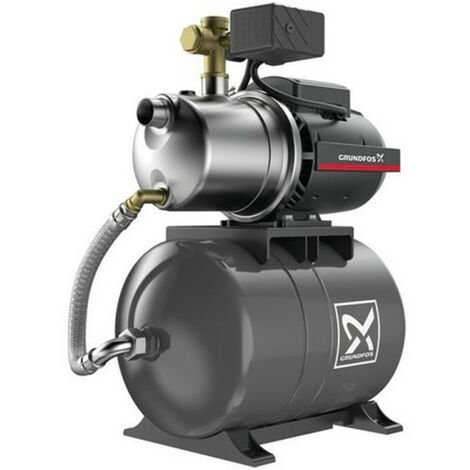 Surpresseur 20L Grundfos JP548PT - Pompe a eau 1,49 kW de 1,5 à 5 m3/h monophasé 220V