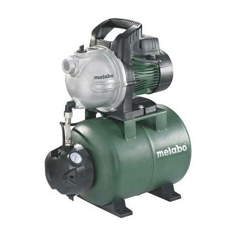 Surpresseur avec réservoir 230 V 4000 l/h Metabo 600971000