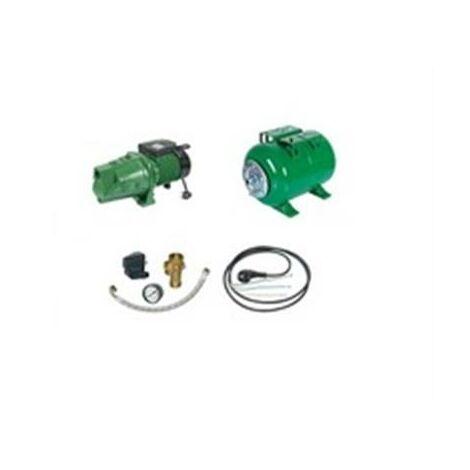 Surpresseur en Kit Pompe Monocellulaire 1800 W Réservoir horizontal 100 L