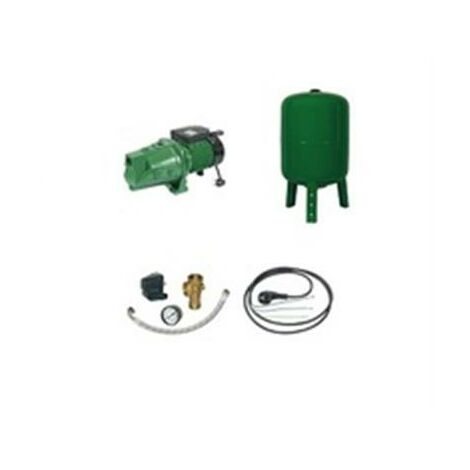 Surpresseur en Kit Pompe Monocellulaire 1800 W Réservoir vertical 200 L