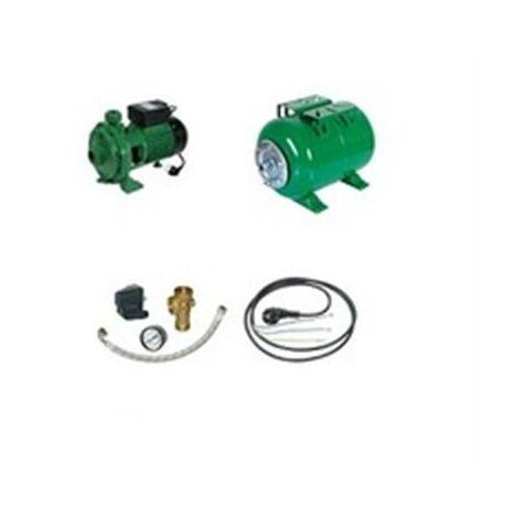 Surpresseur en Kit Pompe Monocellulaire 2000 W Réservoir horizontal 200 L