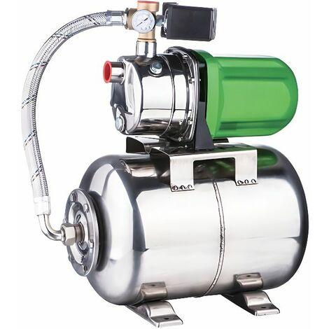 SURPRESSEUR inox 50 litres 1200W 58L/mn