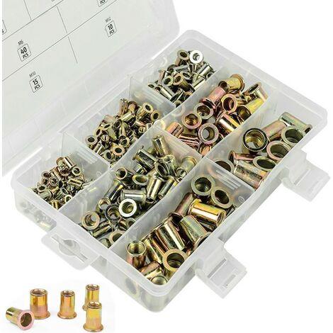 remaches para tuercas Juego de tuercas de 105 mm M8 M3