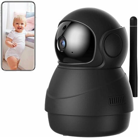 Surveillance Camera, 1080P Wireless WiFi Camera, Updated Version, Motion Tracking, Sound Detection, Two Way Audio, Pan, Tilt, Zoom, Victure Home APP