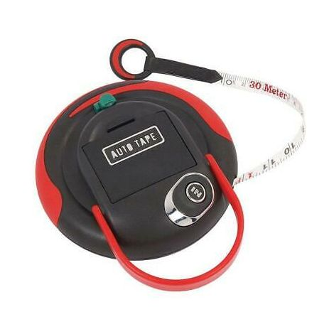 Surveyors Powered Recoil Tape Measure - 30 / 100ft