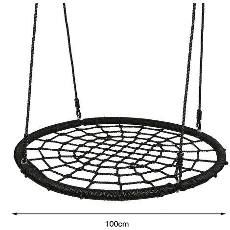 Suspension balançoire filet en forme de nid Filet Ø 100 cm Filet