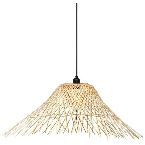 Suspension bambou D76 Moxa Atmosphera - Naturel clair
