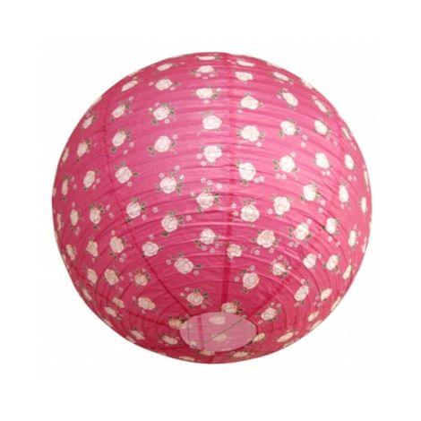 Suspension boule japonaise Décoration PINK LIGHT