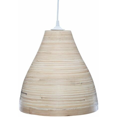 Suspension de Bambou Naturel D. 30 cm - Bambou