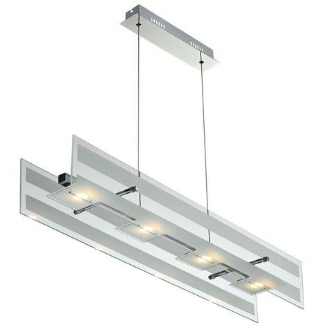 Suspension DEL 20watts lampe lustre cuisine salle Á manger Esto CORA 780080