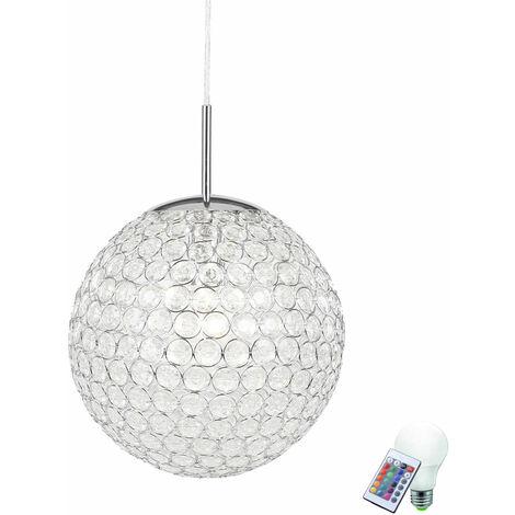Suspension des cuisines éloignées des lumières suspendues estompés dans la série incl. RGB LED Lamp