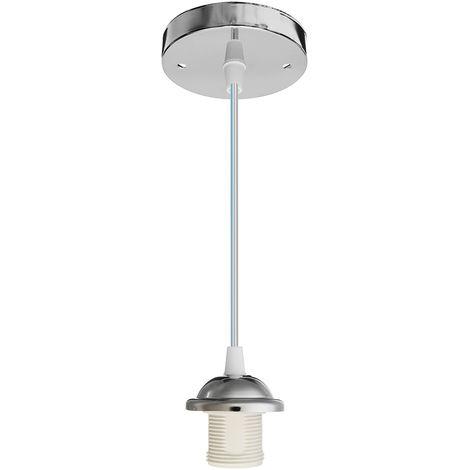 Suspensión industrial de metal de luz de techo vintage para sala de estar dormitorio (sin bombilla)