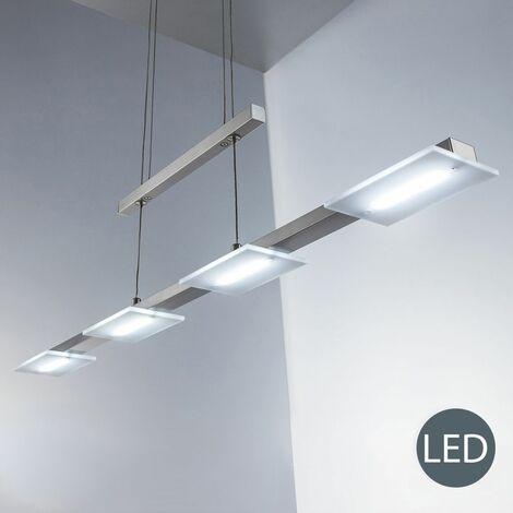 Suspension LED salle à manger lustre moderne salon cuisine luminaire design