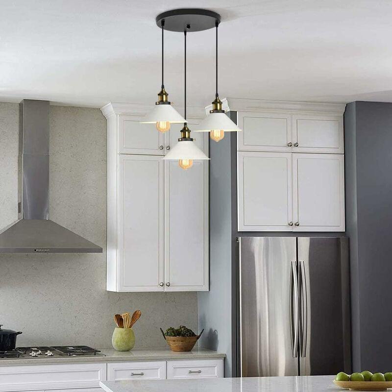 Suspension Luminaire Industrielle Vintage En Metal Fer Retro