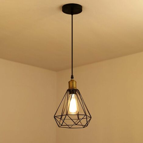 Suspension luminaire industrielle vintage, lampe de plafond ...