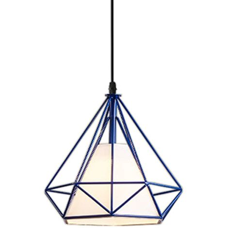 Luminaire Diamant Jour Industrielle Suspension Abat Lustre Forme cR354ALjq
