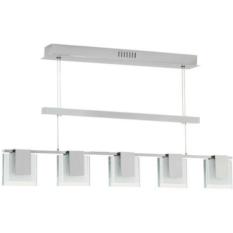 Suspension lustre lampe éclairage plafonnier blanc chaud salle de séjour cuisine
