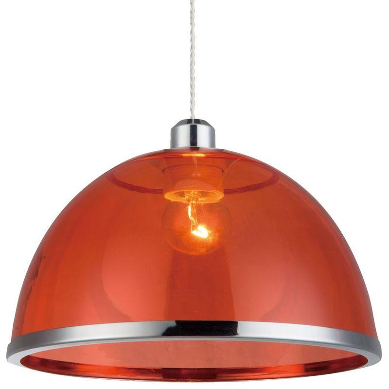 Suspension lustre luminaire plafond clairage salle Suspension cuisine rouge