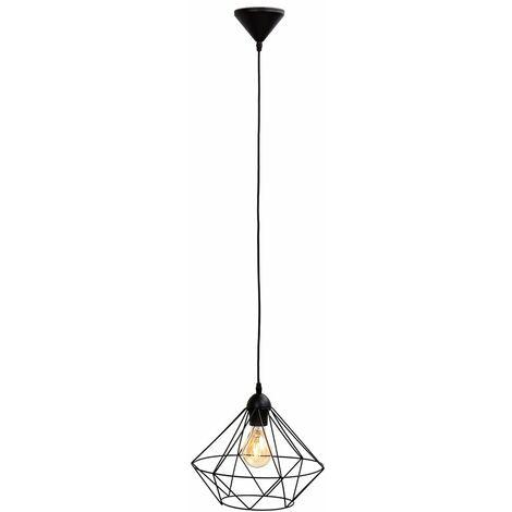 """main image of """"Suspension métal design rétro éclairage style vintage pour ampoule E27 max. 40W"""""""