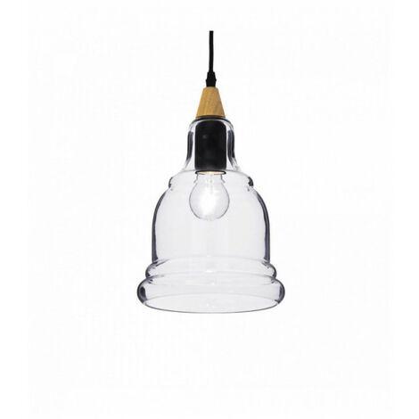 Suspension Noire GRETEL 1 ampoule