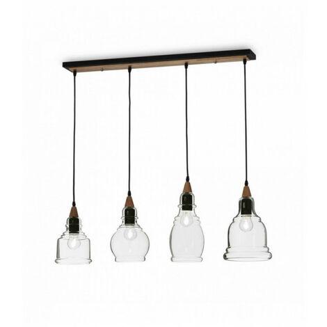 Suspension Noire GRETEL 4 ampoules