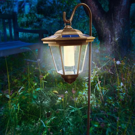Suspension solaire Tivoli LED Lampe solaire lanterne Lampe solaire, esotec 102065