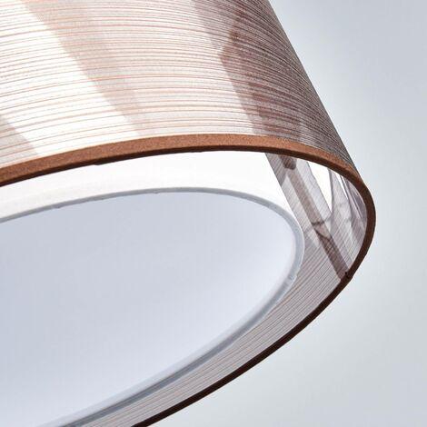 Suspension en Tissu à intensité variable 'Nica' en textile pour salon & salle à manger -