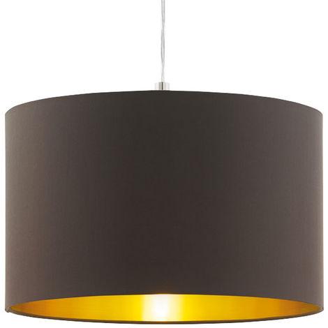 Suspension, textile taupe doré, hauteur 130 cm, CALCENA - eglo96798