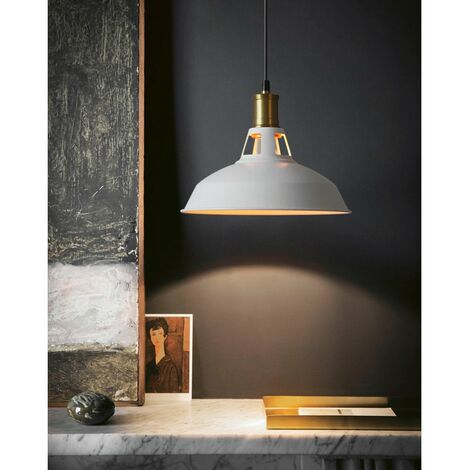De Plafonniers Led Retro Métal Vintage Lampe Industrielle Suspension FcK1lJ